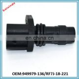 Baixinde brand OEM ReplacingRE7J-18-221 949979-136 Car Auto Crankshaft Sensor/NISSANs Crankshaft Position Sensor