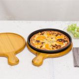 Hot Selling Wooden Pizza Serving Tray