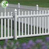 Manufacturers garden fence time-proof white picket fence garden edging