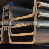 high strength Q345B cold rolling steel sheet pile from China