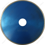 Cold Pressed Sintered Continuous Rim Cold Press Diamond Saw Blade Segmented
