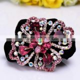 2015 new model poz-167 Elastic flower head bands fashions for women wholesale
