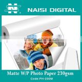 Matte Waterproof Photo Paper 230gsm                                                                         Quality Choice