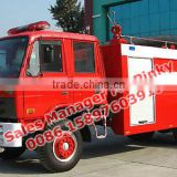 Dongfeng 153 5tons to 6Tons Fire Extinguishing Water Tanker Trucks Fire Tender Pump Trucks Call Ms.Pinky 0086 15897603919