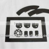 High quality option carbon fiber cutting parts for the SP-1 F1 1/10th scale chassis