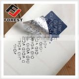 Tamper Evident void security seal Label Sticker, custom 3d printing epoxy sticker                                                                         Quality Choice