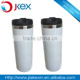 White Coating Stainless Steel Coffee Mug Thermo Travel Mug