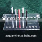 Cheap and Clear acrylic pen display stand
