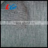 100% Polyester Linen Look Fabric With PU/PVC Coating For Bags/Luggages/Garment /Sofa Using