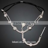Popular Glass Stone Girls Best Love Indian Head Chain