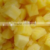 Canned pineapple chunks with high quality