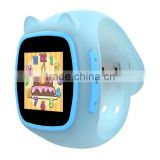 Cat smart watch phone nano sim card with kids favorite cat style appearance