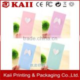 factory price custom fancy variety colors handmade paper greeting card printing                                                                                                         Supplier's Choice