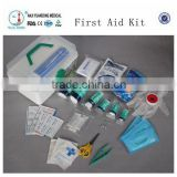 YD80734 China Wholesale First aid kit for factory (CE, ISO and FDA approved)