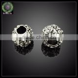 Wholesale Alibaba Bali Gold Style Alloy Metal Beads with Big Hole