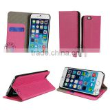 For iphone 6,Universal Wallet Case Crazy House Line Mobile Phone Leather Case For Iphone 6