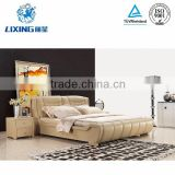 Bedroom Furniture European King Size Bed Frame for Sale