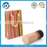 Custom brown color mailing paper tube cap