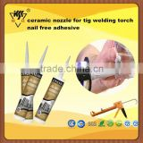 ceramic nozzle for tig welding torch nail free adhesive