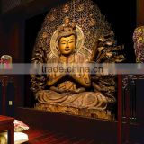 china supplier dustproof soundproof 3d design buddha wall paper                                                                         Quality Choice