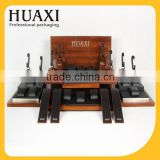High quality custom leather and wood watch display stand                                                                                                         Supplier's Choice