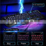 2015 New Cool Back Lighting Keyboard for Computer