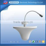 698-2700MHz indoor lte 4g antenna ceiling mount antenna, omni directional 3g indoor wireless dome antenna signal booster
