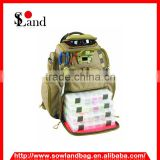 High Capacity Outdoor Fishing Bait Bag Backpack with high quality material