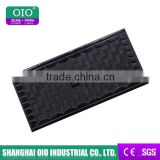 OIO Fake Leather Black Embossed Leather Label For Jeans