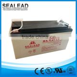 2016 SEALEAD solar energy storage battery 12v 150ah solar battery for standby power supply