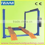 Used Mobile Wheel Alignment 4 Post Lift Car Wash Equipment