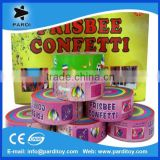 Factory supply crepe paper streamer,frisbee paper confetti streamer                                                                         Quality Choice
