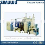 1200c CE quality high horizontal vacuum gas quenching furnace with rotary vane vacuum pump