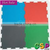 Anti-static rubber flooring/ interlocking rubber mat sport court tiles for playground