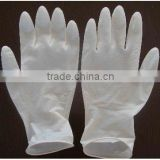 Single-use medical rubber examination gloves