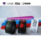 football cup custom design silicone bracelets&silicone slap wristband/band for World cup