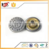 All Kind of Garment accessories custom easy button fashion custom jeans rivets buttons for cloth