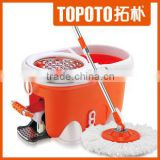 micro-fiber floor cleaning magic spin mop