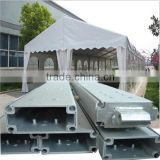 UV resistant and fireproof hard shell roof top tent