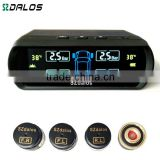 Solar power car diagnostic tool auto bluetooth sensor 433.92 mhz tire pressure gauge electronic