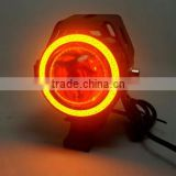 alibaba china universal motorcycle bi-xenon hid projector lens light angel eyes                                                                                                         Supplier's Choice