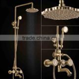 new design classic bath in-wall shower set faucet mixer LT10128AAB