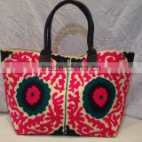Suzani bag shopping bag Tote Fashionable ladies bag