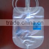 adult screw valve 2000ml urine bag