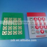 Custom PCB membrane keypad switch/waterproof membrane switch/diy membrane switch/membrane circuit switch
