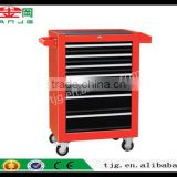 TJG CHINA Mobile Tool Cabinet Tool Cart TJG-185M Multi-Functional Workshop With Single And Double Lock Drawer Tool