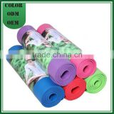 Custom Print Eco Anti-slip NBR/PVC Sink Yoga Mat