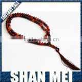 2014 fasihion high quality natural dream agate prayer bead bracelet
