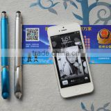 good quality metal stylus pen for IPAD or phone with banner