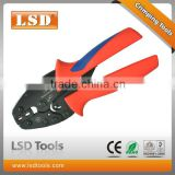 LSD experience production for 10yearsCE ROHS ISO9001:2008 for non-insulated plug terminals L-0725 0.5-2.5mm2 hand plier crimper
